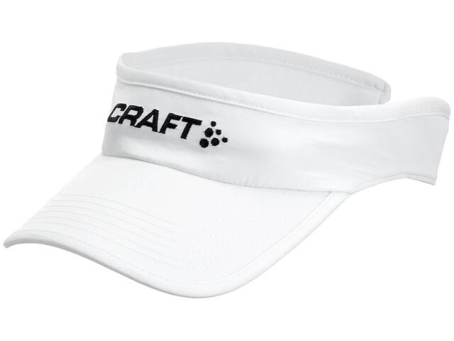 Craft Running Visor - Couvre-chef - blanc